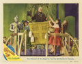 """Movie Posters:Fantasy, The Wizard of Oz (MGM, R-1949). Lobby Card (11"""" X 14"""")...."""