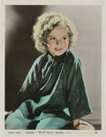 """Movie Posters:Musical, Shirley Temple in """"Stowaway"""" (20th Century Fox, 1936). Color-Glos Studio Portrait (11"""" X 14"""")...."""