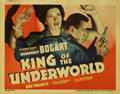 "Movie Posters:Crime, King of the Underworld (Warner Brothers, 1939). Title Lobby Card(11"" X 14"")...."