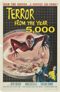 "Movie Posters:Science Fiction, Terror from the Year 5000 (American International, 1958). One Sheet(27"" X 41"")...."