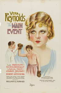 "The Main Event (Pathé, 1927). One Sheet (27"" X 41"")"