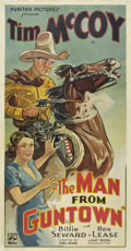 "Movie Posters:Western, The Man From Guntown (Puritan, 1935). Three Sheet (41"" X 81"")...."