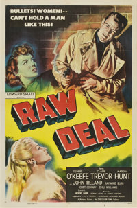 """Raw Deal (Eagle Lion, 1948). One Sheet (27"""" X 41"""")"""