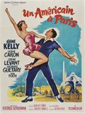 "Movie Posters:Academy Award Winner, An American in Paris (MGM, R-1963). French Grande (47"" X 63"")...."