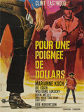 "Movie Posters:Western, A Fistful of Dollars (PEA, 1964). French Grande (47"" X 63"")...."