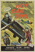 "Movie Posters:Cult Classic, Hot Car Girl (Allied Artists, 1958). Poster (40"" X 60"")...."