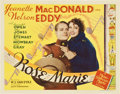"""Movie Posters:Musical, Rose-Marie (MGM, 1936). Title Lobby Card (11"""" X 14"""")...."""