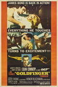 "Movie Posters:James Bond, Goldfinger (United Artists, 1964). Poster (40"" X 60"") Style Y...."
