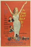 "Movie Posters:Comedy, The Girl Can't Help It (20th Century Fox, 1956). Poster (40"" X 60"")Style Y...."