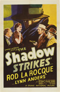 """The Shadow Strikes (Grand National, 1937). One Sheet (27"""" X 41"""")"""