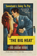 "Movie Posters:Film Noir, The Big Heat (Columbia, 1953). One Sheet (27"" X 41"")...."