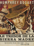 "Movie Posters:Drama, The Treasure of the Sierra Madre (Warner Brothers, R-1952). FrenchGrande (47"" X 63"")...."
