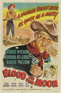 """Movie Posters:Western, Blood on the Moon (RKO, 1948). One Sheet (27"""" X 41"""")...."""