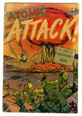 Golden Age (1938-1955):War, Atomic Attack #5 (Youthful Magazines, 1953) Condition: VG+....