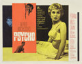 """Movie Posters:Hitchcock, Psycho (Paramount, 1960). Half Sheet (22"""" X 28"""") Style A...."""