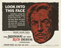 """Movie Posters:Horror, The Masque of the Red Death (American International, 1964). Half Sheet (22"""" X 28"""")...."""