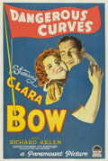 "Movie Posters:Comedy, Dangerous Curves (Paramount, 1929). One Sheet (27"" X 41"") Style B - Silent Version. ..."