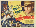 """Movie Posters:Western, The Throwback (Universal, 1935). Half Sheet (22"""" X 28"""")...."""