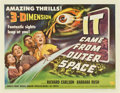 "Movie Posters:Science Fiction, It Came From Outer Space (Universal International, 1953). HalfSheet (22"" X 28"") Style B...."