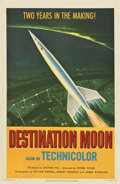"Movie Posters:Science Fiction, Destination Moon (Pathé, 1950). One Sheet (27"" X 41"")...."