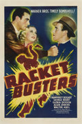 """Movie Posters:Crime, Racket Busters (Warner Brothers, 1938). One Sheet (27"""" X 41"""")...."""