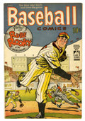 Golden Age (1938-1955):Miscellaneous, Baseball Comics #1 (Will Eisner, 1949) Condition: VG+....