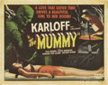 "Movie Posters:Horror, The Mummy (Realart, R-1951). Half Sheet (22"" X 28"")...."