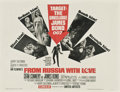 "Movie Posters:James Bond, From Russia with Love (United Artists, 1964). Half Sheet (22"" X28"")...."