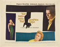 "Movie Posters:Drama, The Man With the Golden Arm (United Artists, 1955). Half Sheet (22""X 28"") Style B...."