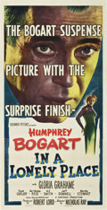 "Movie Posters:Film Noir, In a Lonely Place (Columbia, 1950). Three Sheet (41"" X 81"")...."