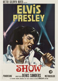 """Movie Posters:Elvis Presley, That's the Way It Is (MGM, 1971). Italian 4 - Folio (55"""" X 78"""")...."""