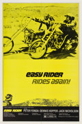 """Movie Posters:Drama, Easy Rider (Columbia, R-1972). One Sheet (27"""" X 41"""")...."""
