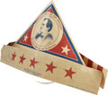 Political:Small Paper (1896-present), Colorful 1896 Paper Cocked Hat, Published by The Boston Sunday Globe. ...
