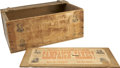 Political:3D & Other Display (pre-1896), Benjamin Harrison and Grover Cleveland: Campaign Cakes Box, Election of 1888. ...