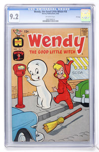 Wendy, the Good Little Witch #18 File Copy (Harvey, 1963) CGC NM- 9.2 Off-white pages