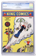 Platinum Age (1897-1937):Miscellaneous, King Comics #5 (David McKay Publications, 1936) CGC FN+ 6.5 Whitepages....