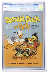 Four Color #9 Donald Duck (Dell, 1942) CGC GD 2.0 Off-white to white pages