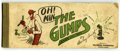 Platinum Age (1897-1937):Miscellaneous, The Gumps Book #1 (Landfield-Kupfer Printing Co., 1918) Condition:GD....