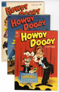 Golden Age (1938-1955):Humor, Howdy Doody File Copy Group (Dell, 1952-56) Condition: AverageFN/VF.... (Total: 12 Comic Books)