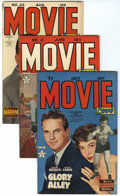 Golden Age (1938-1955):Romance, Movie Love #17, 21, and 22 File Copy Group (Famous Funnies,1952-53) Condition: Average VF-.... (Total: 3 Comic Books)