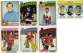 Hockey Cards:Lots, 1970-71 - 1977-78 Topps Hockey Collection (847). ...