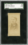 Non-Sport Cards:General, 1888 S.F. Hess N332 Thomas Edison SGC 10 Poor 1. ...