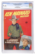 Golden Age (1938-1955):Western, Ken Maynard Western #2 Crowley Copy pedigree (Fawcett, 1950) CGC NM9.4 Off-white to white pages....