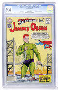 Silver Age (1956-1969):Superhero, Superman's Pal Jimmy Olsen #53 (DC, 1961) CGC NM 9.4 Whitepages....