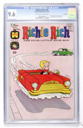 Silver Age (1956-1969):Humor, Richie Rich #56 File Copy (Harvey, 1967) CGC NM+ 9.6 Cream to off-white pages....