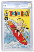 Silver Age (1956-1969):Cartoon Character, Richie Rich #60 File Copy (Harvey, 1967) CGC NM+ 9.6 Off-white pages....