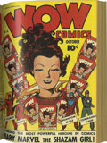 Golden Age (1938-1955):Superhero, Wow Comics #9-20 Bound Volume (Fawcett, 1943)....