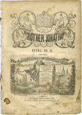 Memorabilia:Comic-Related, The Adventures of Mr. Obadiah Oldbuck - First Printing - Brother Jonathan Extra IX (Wilson and Company, 1842) Condition: Fair/...