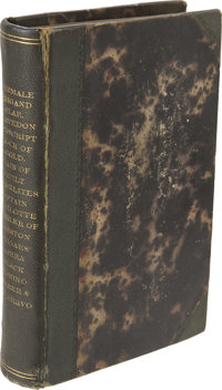 [LAURA KEENE] Bound Volumes of printed prompter's scripts of various romantic and comic plays, including Laura Keene'