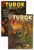 Silver Age (1956-1969):Adventure, Turok #9 and 11 Group (Dell, 1957-58).... (Total: 2 Comic Books)
